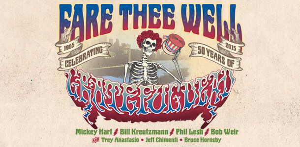 "Catch the Grateful Dead""s ""Fare Thee Well"" at the National"